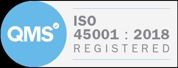 A-Met Metrology is ISO 45001:2018 accredited