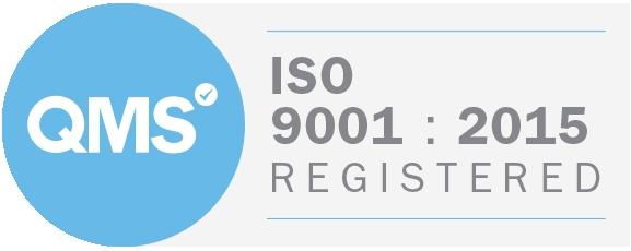 A-Met Metrology is ISO 9001:2015 accredited